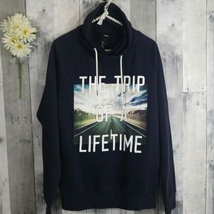 "H&M Cowl Sweater ""the trip of a lifetime"""